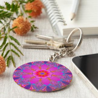 Funky Mandala Keychain