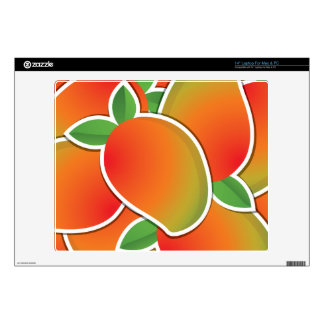 "Funky mango decals for 14"" laptops"