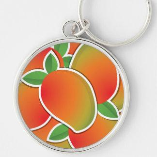 Funky mango keychain