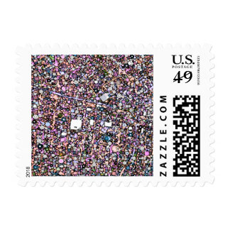 funky Maps SAN FRANCISCO Postage Stamps
