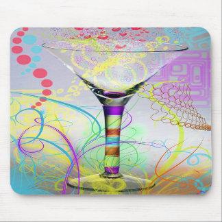 Funky Martini Mouse Pad
