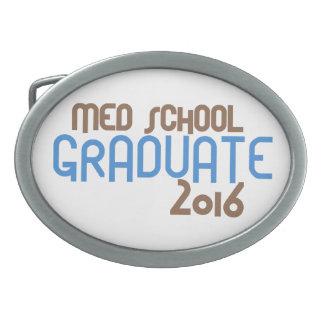 Funky Med School Graduate 2016 (Blue) Belt Buckle