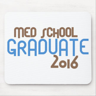 Funky Med School Graduate 2016 (Blue) Mouse Pad