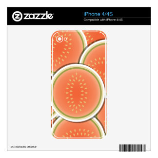 Funky melons decals for the iPhone 4S