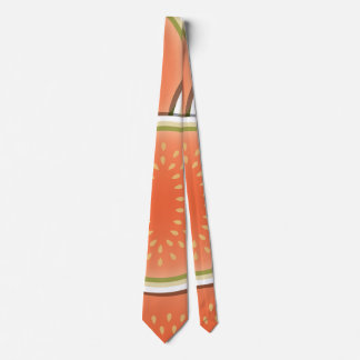 Funky melons neck tie