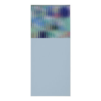 Funky Metallic Glass Abstract Card