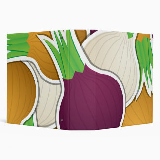 Funky mixed onions binder