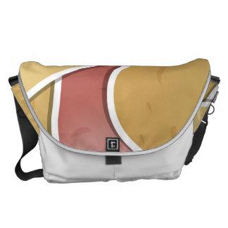 Funky mixed potato messenger bag