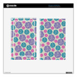funky modern chic roses pattern decals for kindle fire
