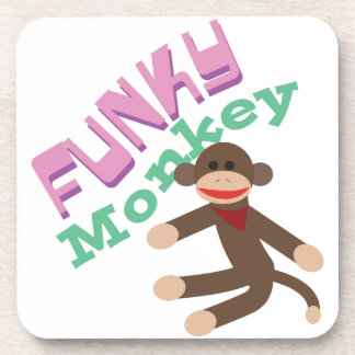 Funky Monkey Beverage Coaster