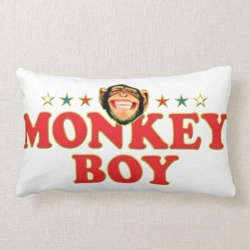 Funky Monkey Boy Pillows