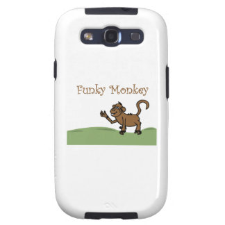 Funky Monkey Galaxy SIII Case