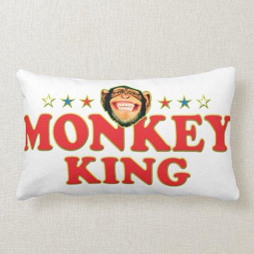 Funky Monkey King Pillow
