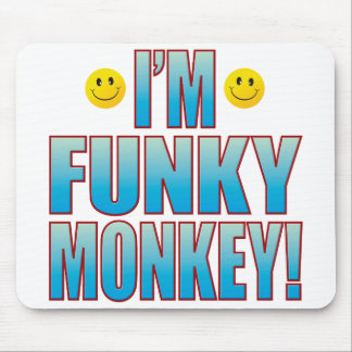 Funky Monkey Life Mouse Pad