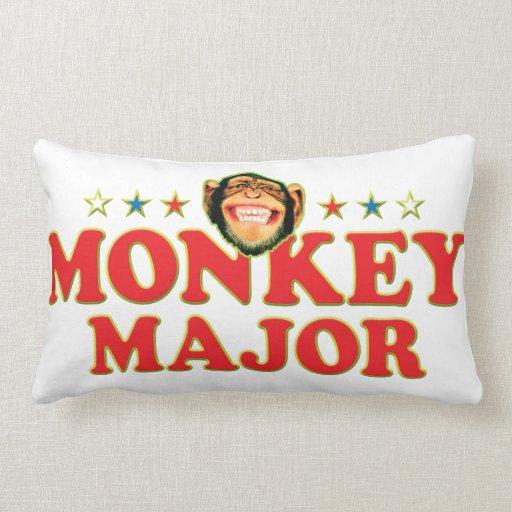 Funky Monkey Major Throw Pillows
