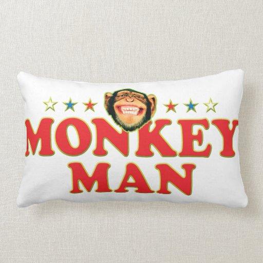 Funky Monkey Man Pillow