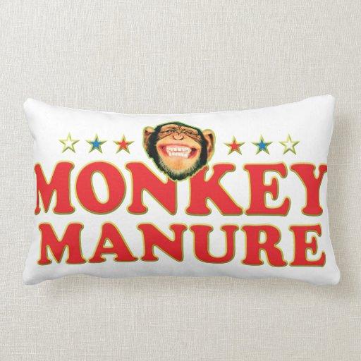 Funky Monkey Manure Pillow