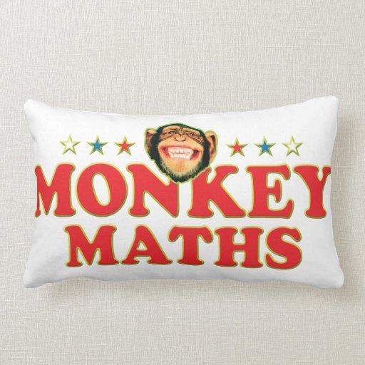 Funky Monkey Maths Pillow