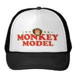 Funky Monkey Model Mesh Hats