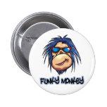 Funky Monkey Pin