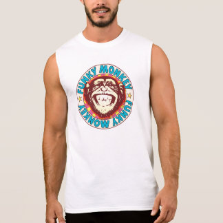 Funky Monkey Sleeveless Shirt