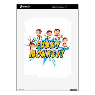 Funky monkeys iPad 2 decals