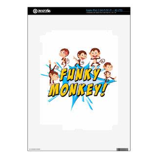 Funky monkeys skin for iPad 3