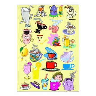 Funky mugs card