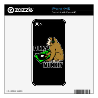 Funky Munkey Decals For The iPhone 4S