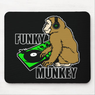 Funky Munkey Mouse Pad