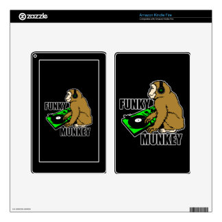 Funky Munkey Skins For Kindle Fire