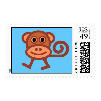 Funky Munky Stamp