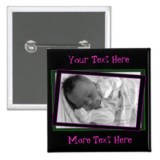 Funky Neon Frame Button