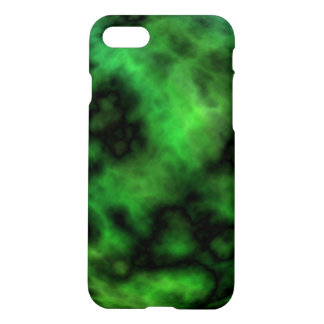 Funky Neon Green Emerald Halloween Abstract iPhone 8/7 Case