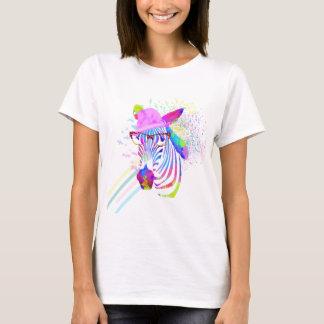 Funky Neon Zebra T-Shirt