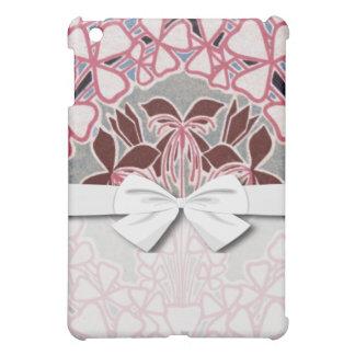 funky nouveau flowers design iPad mini cover