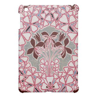 funky nouveau flowers design case for the iPad mini