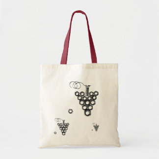 Funky Nuts&Screws Grapes Bag