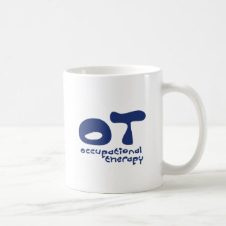 Funky Occupational Therapy Classic White Coffee Mug