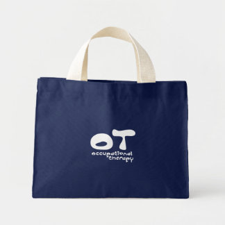 Funky Occupational Therapy Mini Tote Bag