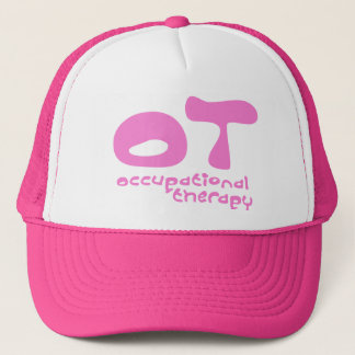 Funky Occupational Therapy Trucker Hat
