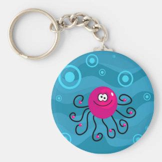 Funky Octopus Keychain