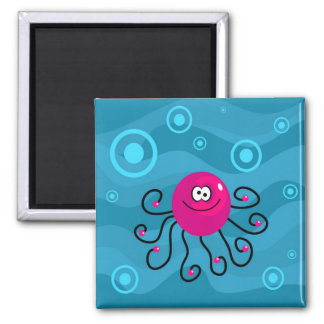 Funky Octopus Magnet