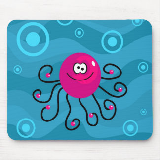 Funky Octopus Mouse Pad
