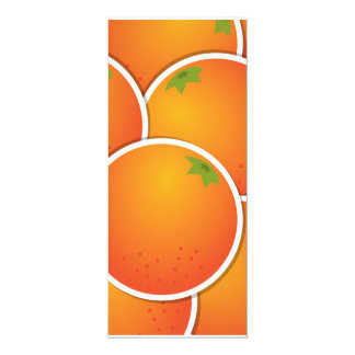 Funky oranges card