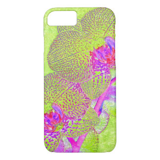 funky orchid iPhone 7 case