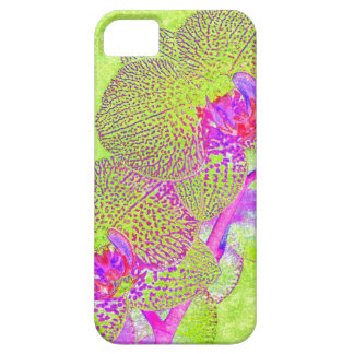 funky orchid iphone case iPhone 5 case