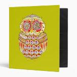 Funky Owl Binder