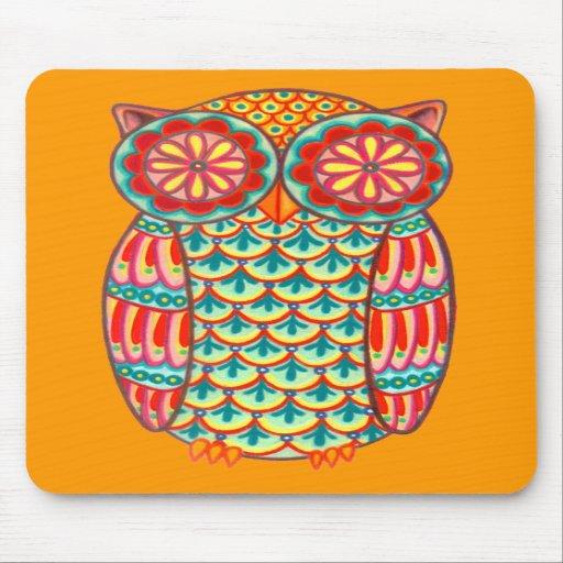Funky Owl Mousepad