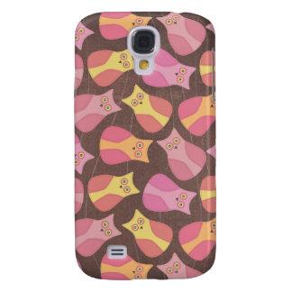 Funky Owl Pattern Animal Designer iphone Protector Samsung S4 Case